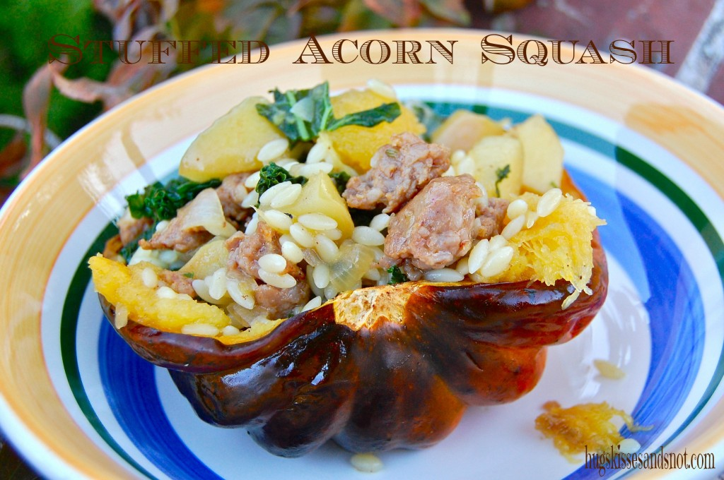 Roasted Acorn Squash Stuffed Shells Recipe — Dishmaps