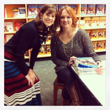 Pioneer Woman Book signing part Trois