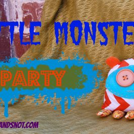 Happy Birthday Harry Monster Party