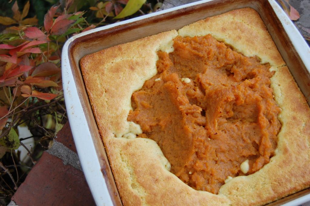 sweet potato and cornbread
