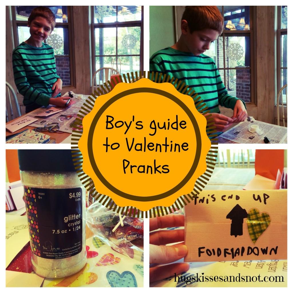 Valentine pranks