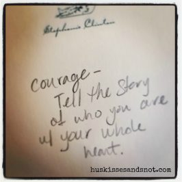 Courage = Vulnerability = Courage Brene Brown Ted Talk