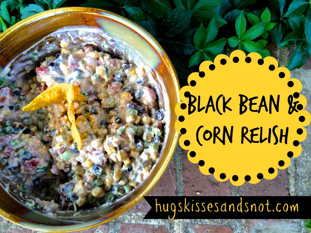 black bean and corn relish