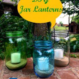 DIY Jar Lanterns