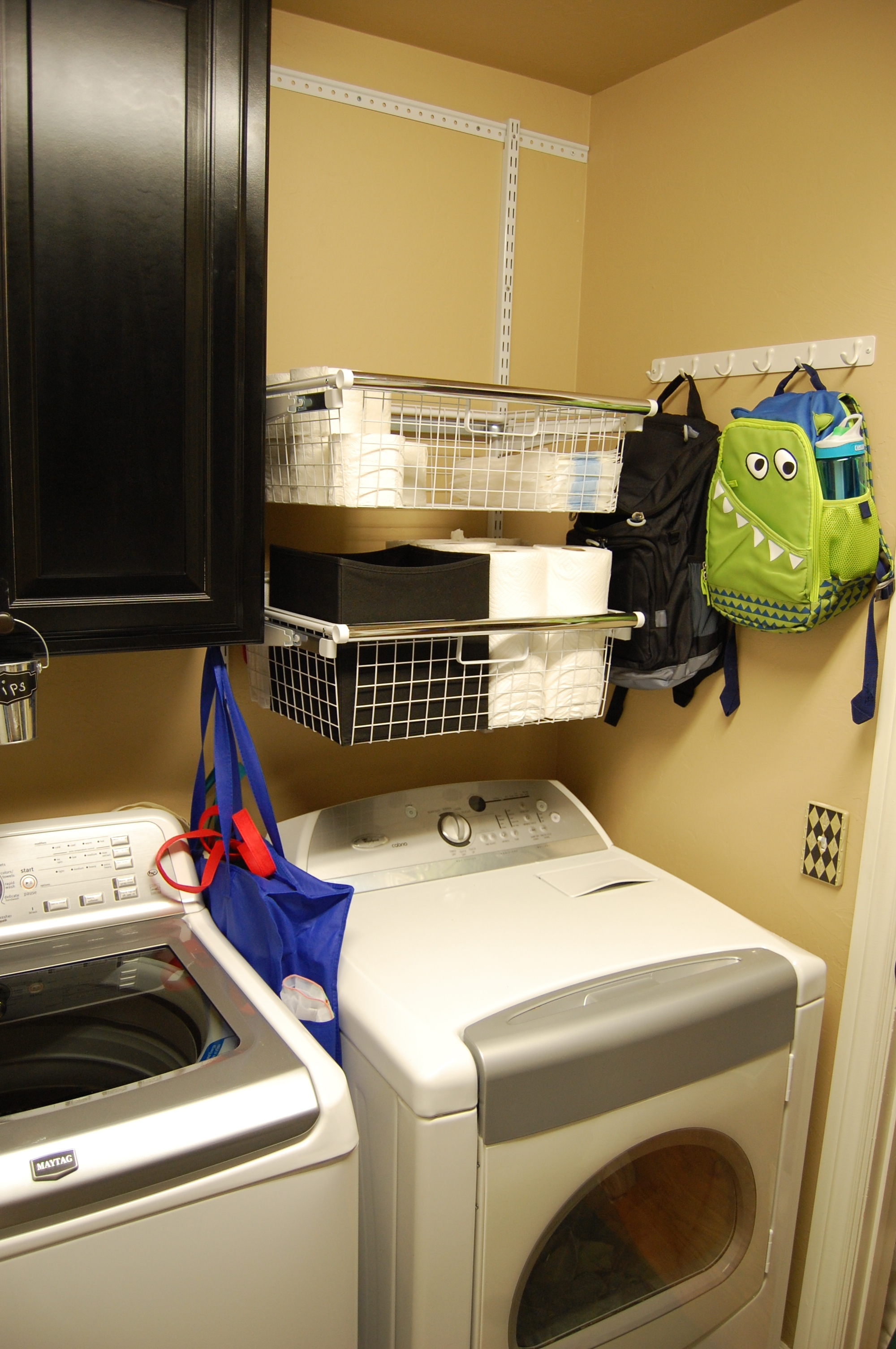 Easy Laundry Room Makeover Hugs Kisses And Snot