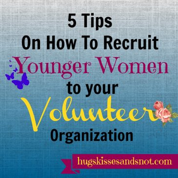 How to recruit younger women to your volunteer organization