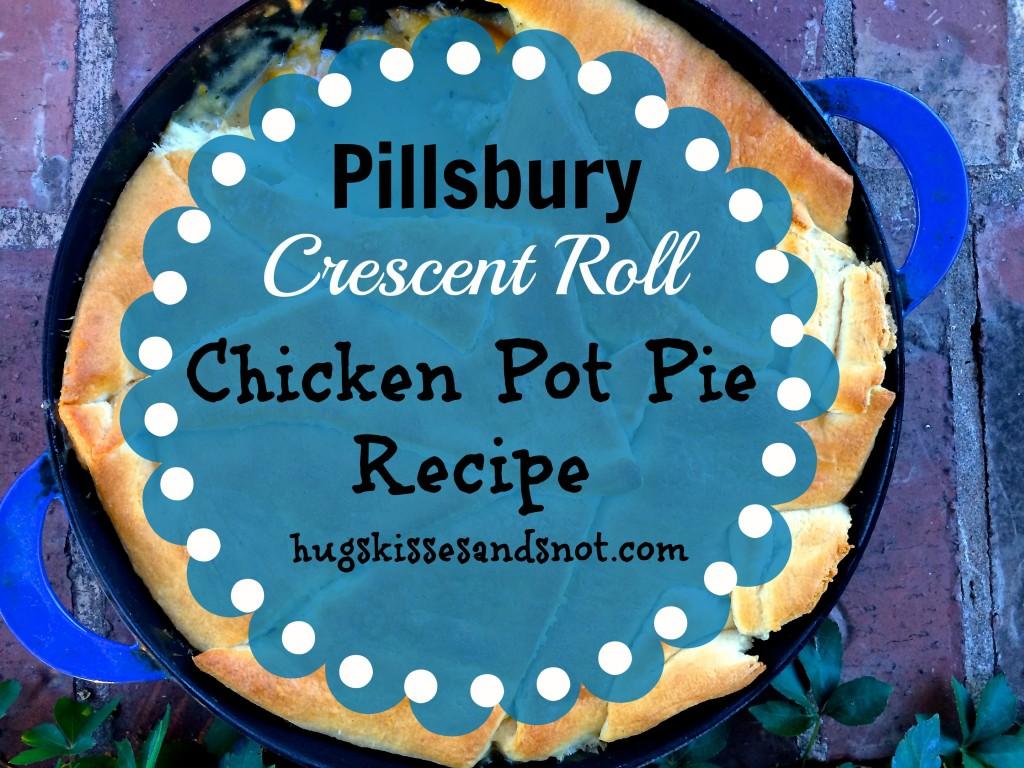 crescent roll chicken pot pie recipe