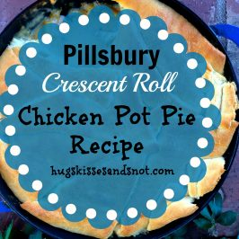 Crescent Roll Chicken Pot Pie Recipe