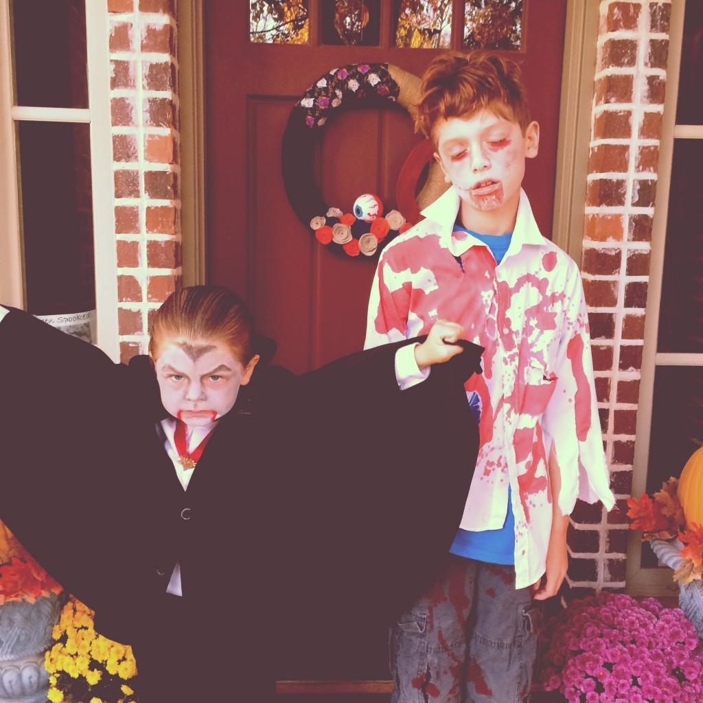 vampire and zombie costumes