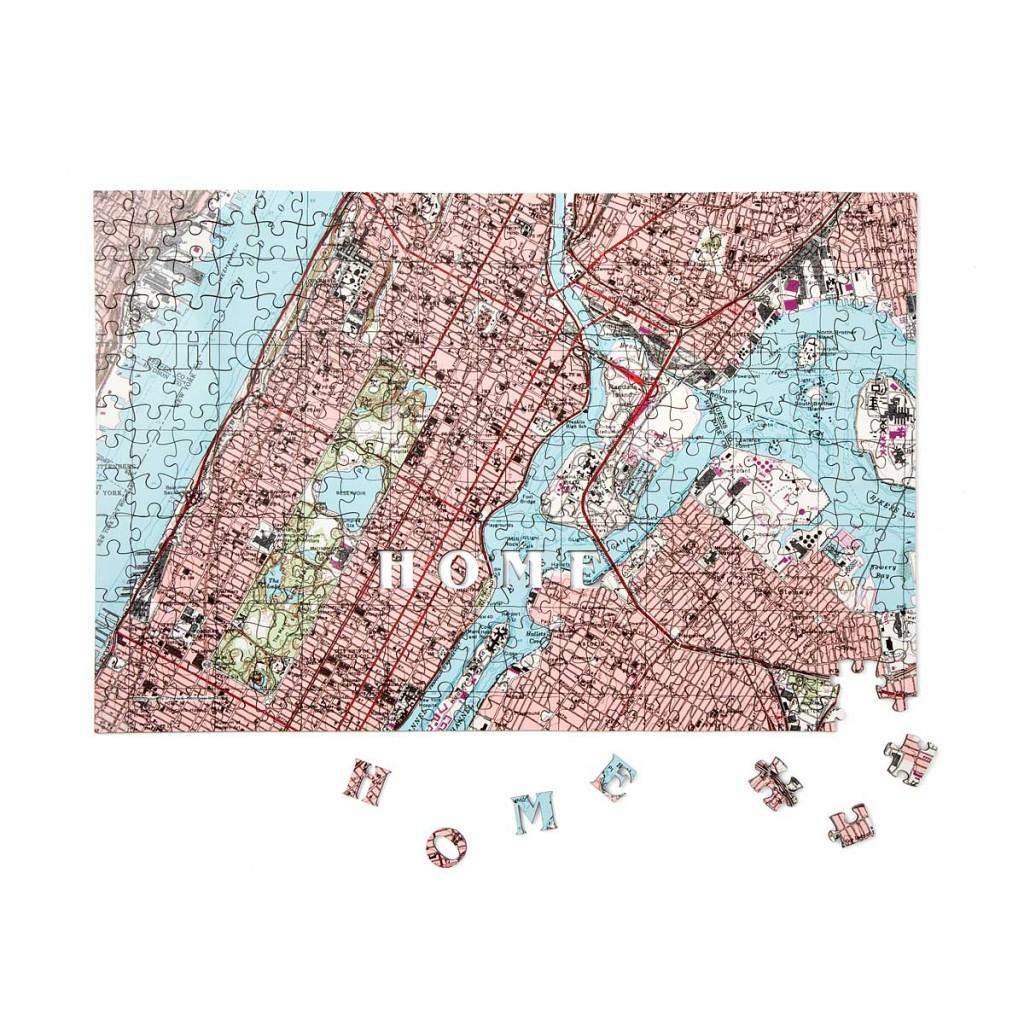 custom street puzzle