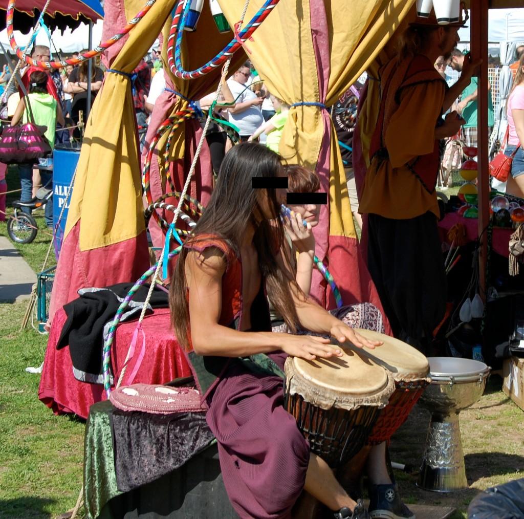 Medieval Fair 2015 drummer