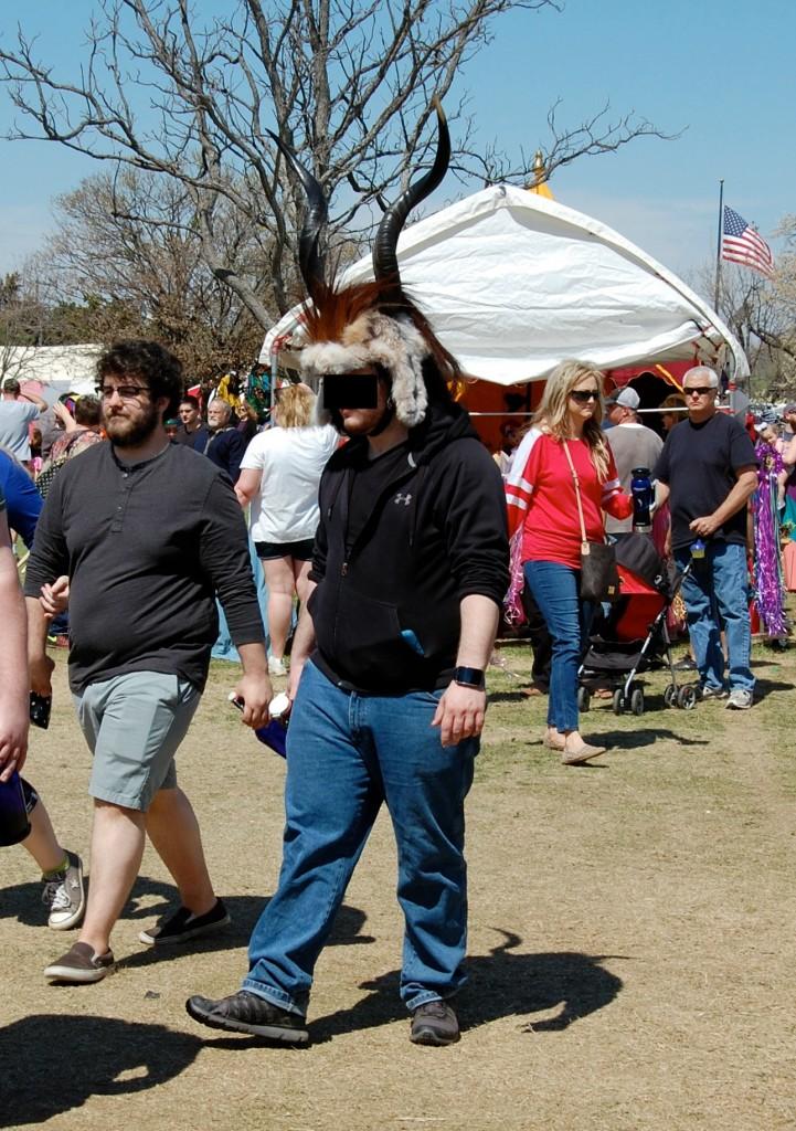 Medieval Fair 2015 horn hat