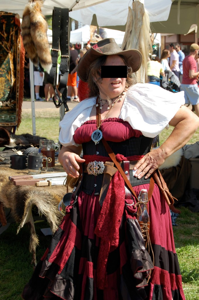 Medieval Fair 2015 red costume
