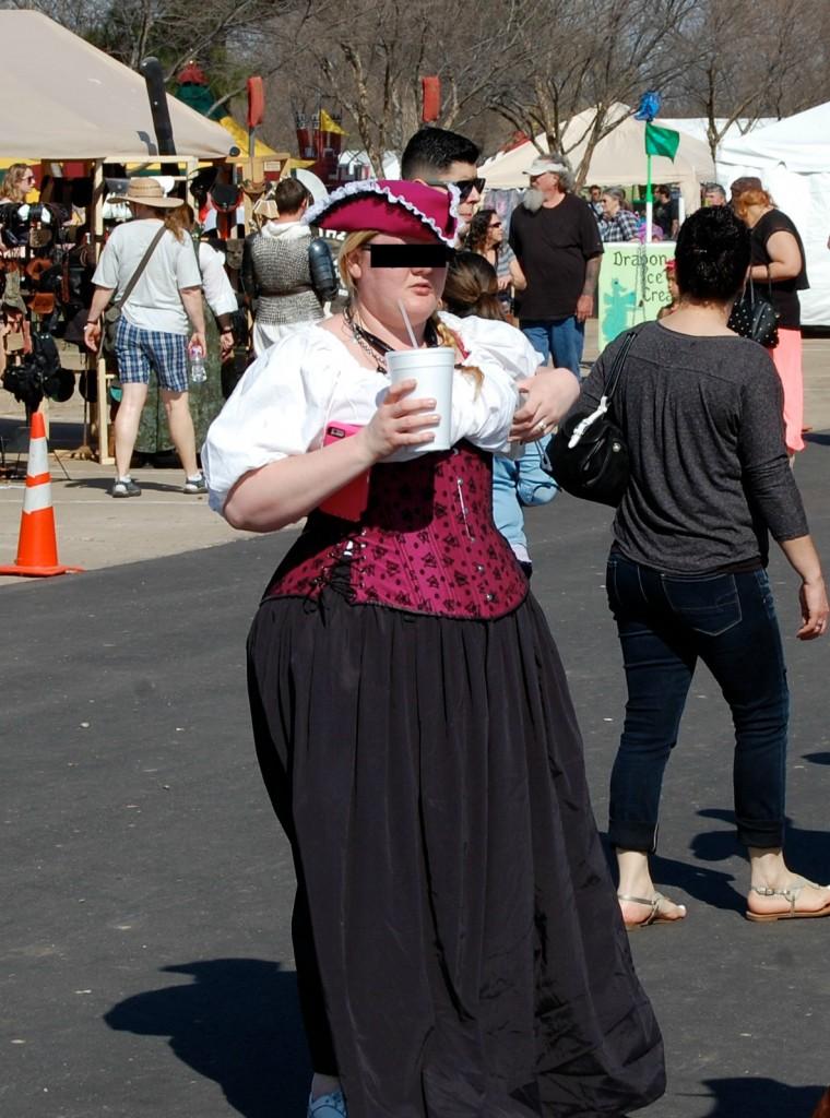 medieval fair 2015 pink corset