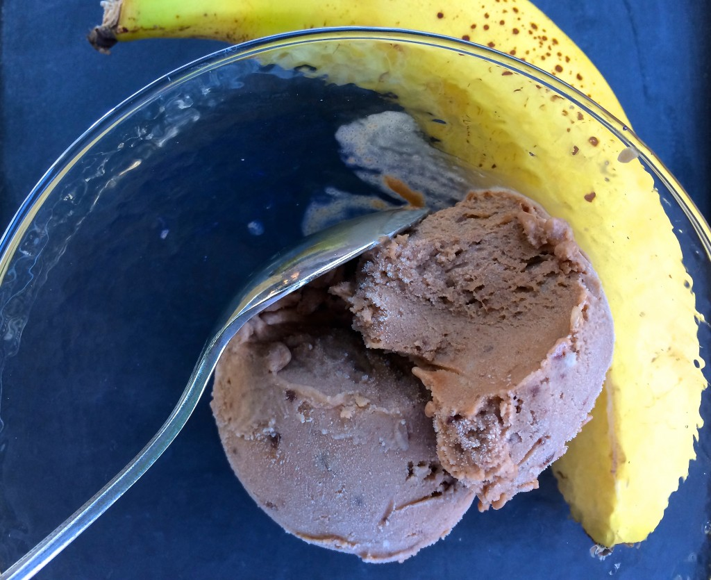 banana nutella ice cream