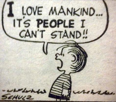 I love mankind