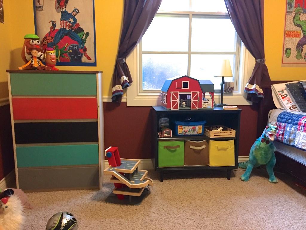 updated kid room