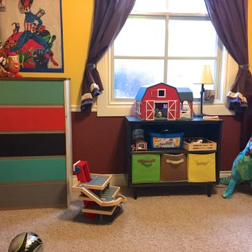Kid Room Update on a Budget