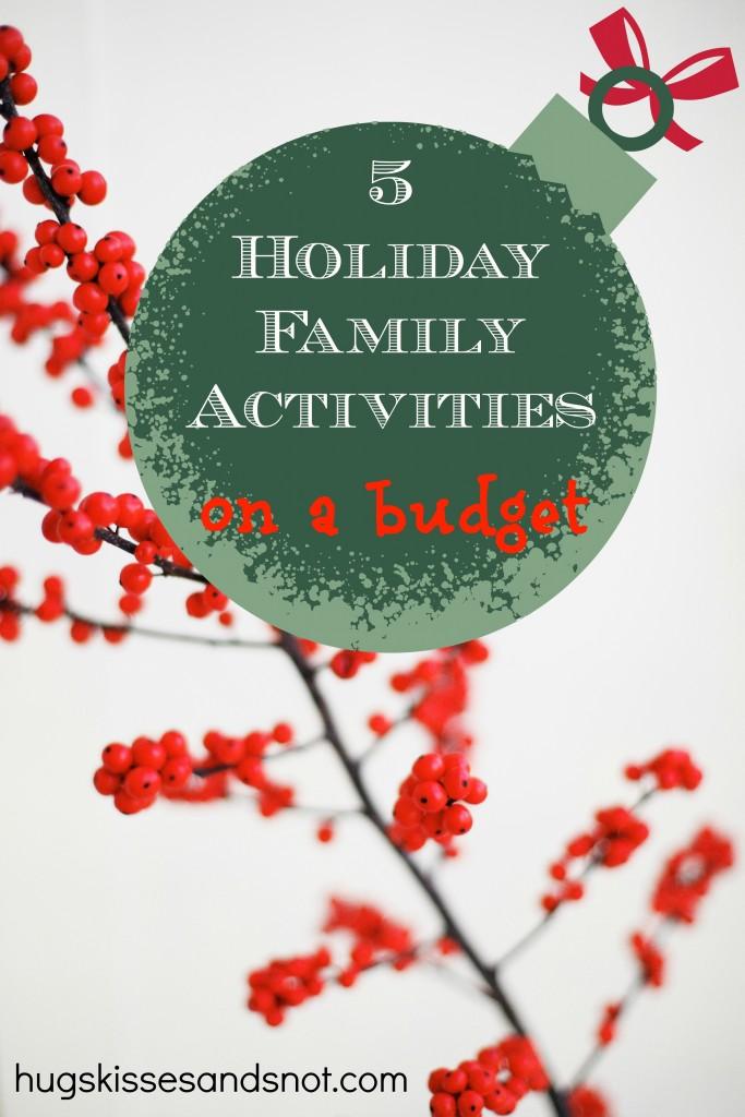 holiday family activites