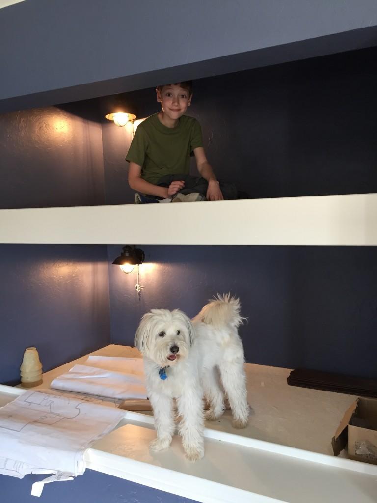 bunk bed lighting