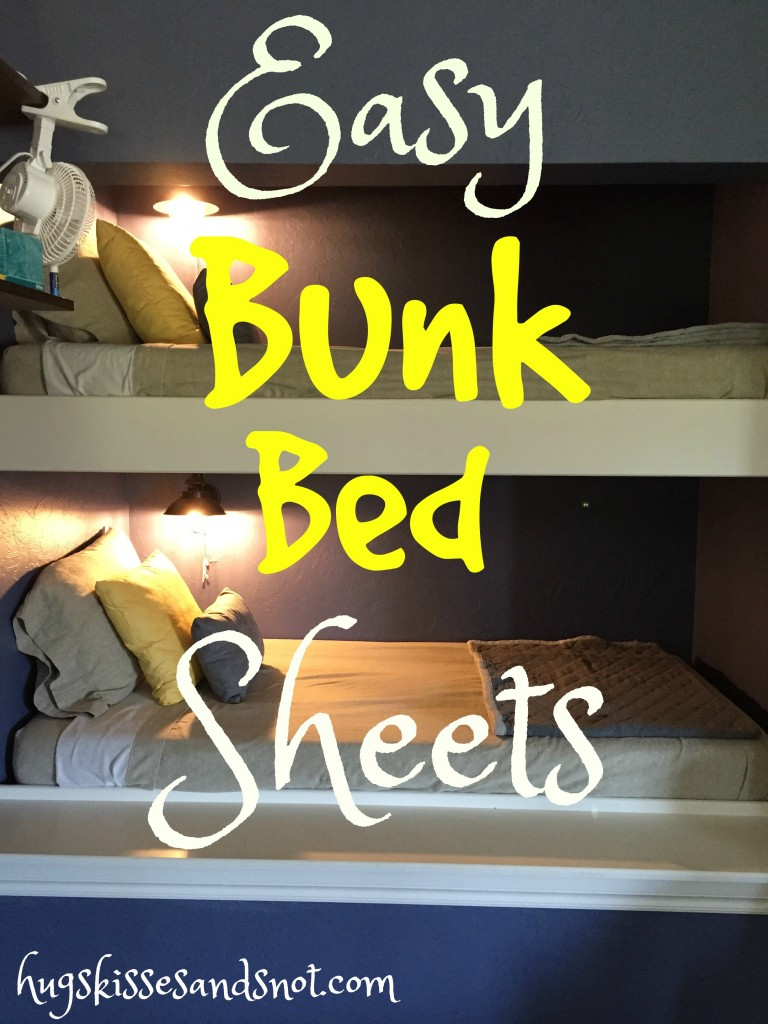 easy bunk bed sheets