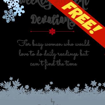 FREE Advent Devotional