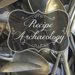 Recipe Archaeology