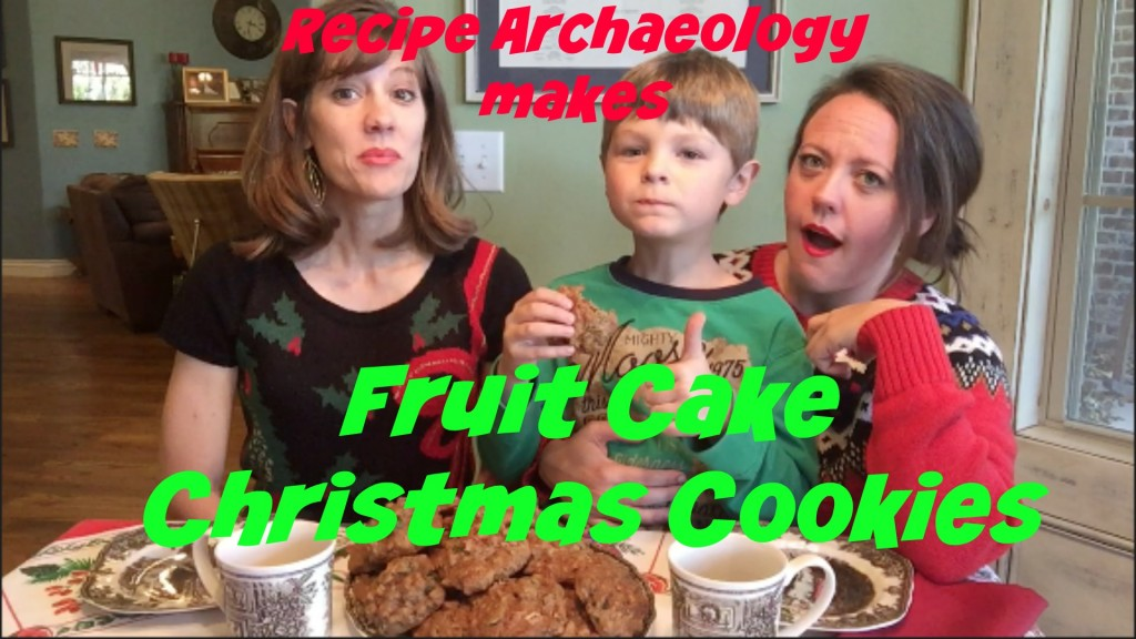 fruit cake christmas cookies