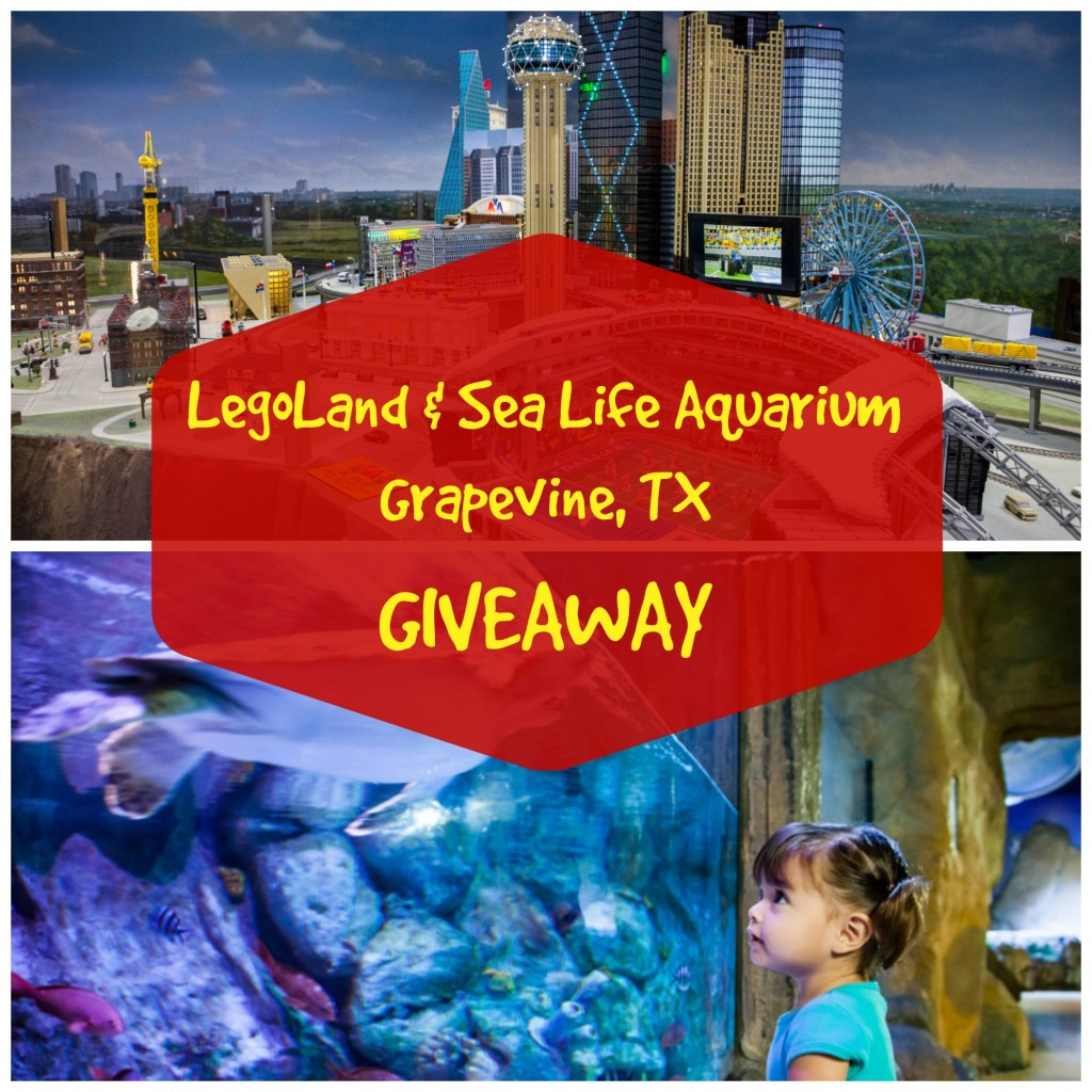 legoland & sea life aquarium giveaway