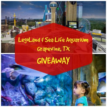 LegoLand & Sea Life Aquarium Grapevine Giveaway