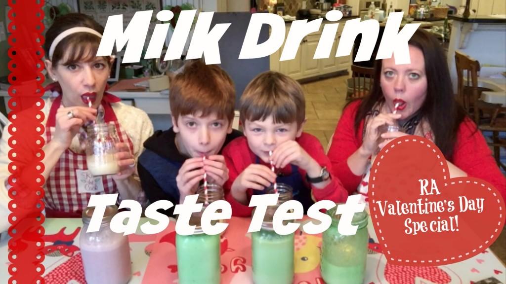 milk shake taste test