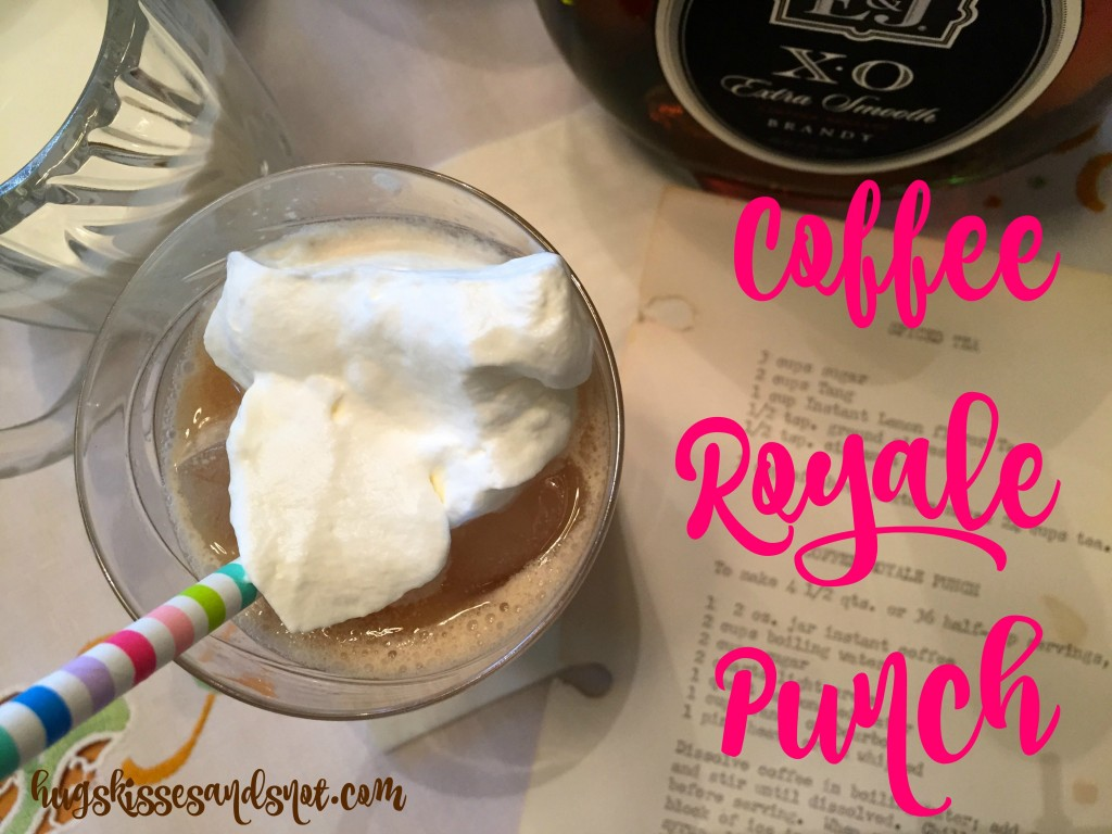 coffee royale punch