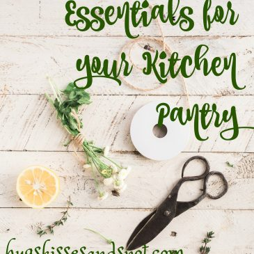 5 Healthy Essentials For Your Kitchen Pantry