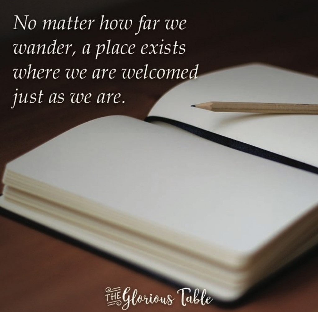just as we are
