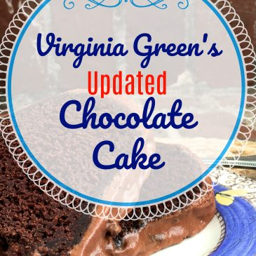 Updated Virginia Green Chocolate Cake