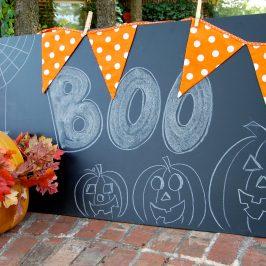 Easy & Inexpensive Chalkboard