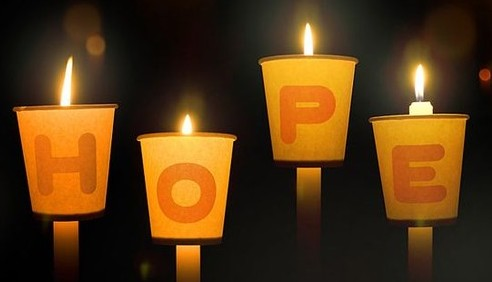 The First Candle of Advent is Hope