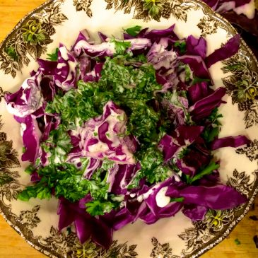 Purple Cole Slaw