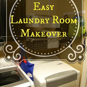 Easy Laundry Room Makeover