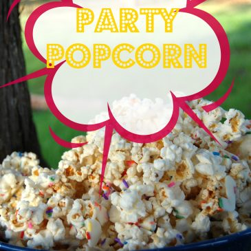 Party Popcorn with Jolly Time Popcorn