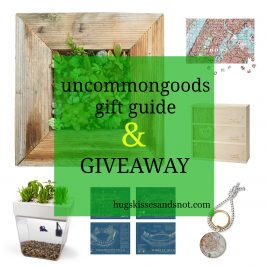 Uncommon Goods Gift Guide & Giveaway