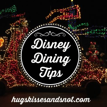 Disney Dining Tips