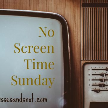 No Screen Time Sunday Experiment