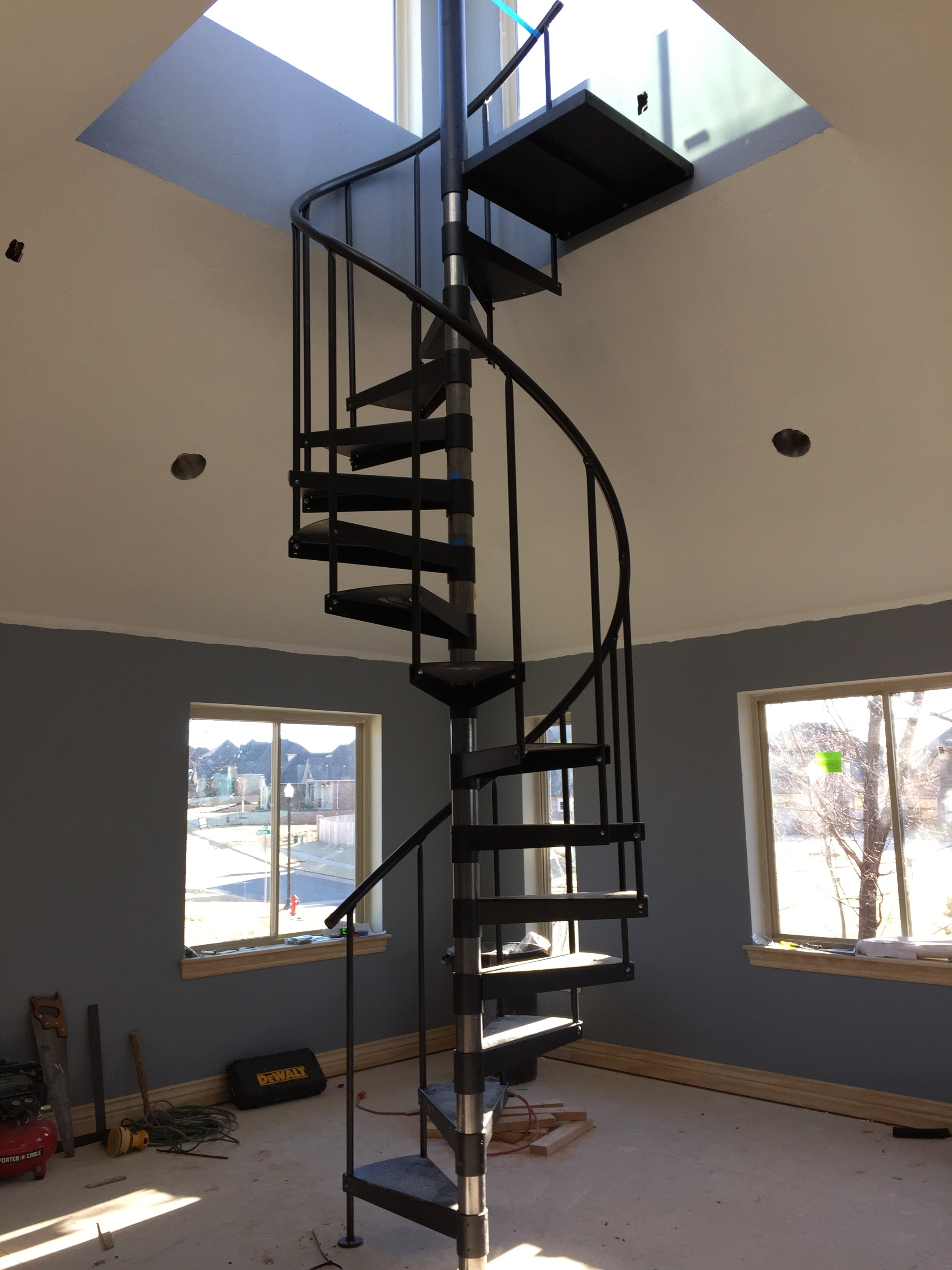 Ft Clinton Update The Spiral Staircase Lighting New