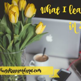What I Learned In April
