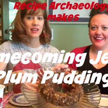Jello Plum Pudding from Recipe Archaeology