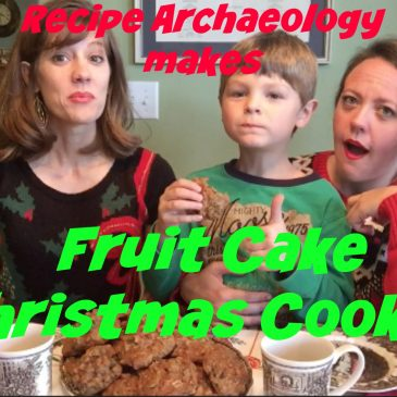 Fruit Cake Christmas Cookies from Recipe Archaeology