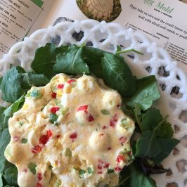 Recipe Archaeology – Deviled Egg Mold recipe from 1960