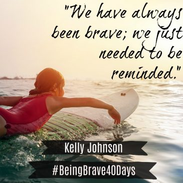 Being Brave Book Review