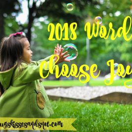2018 Word: Choose Joy
